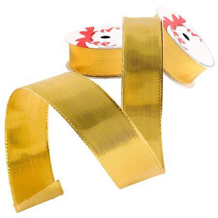 Лента плътно злато 25мм.- цена на едро