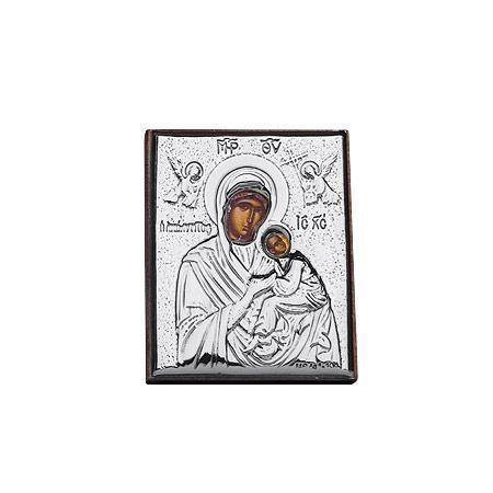 Икона Богородица 4/5 cm.