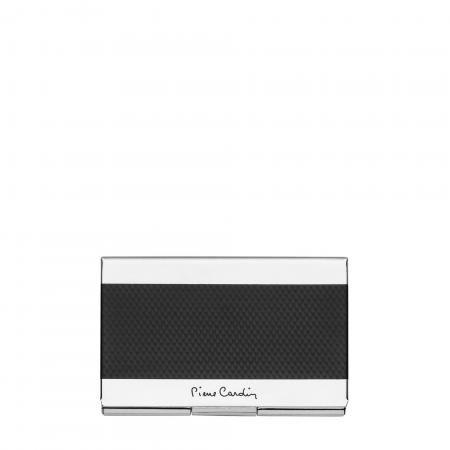 Визитник PIERRE CARDIN класик карбон