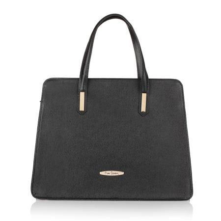 Чанта PIERRE CARDIN - Elie черна