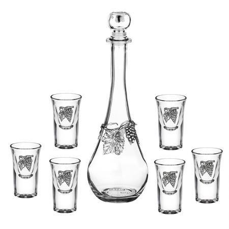 Сет 6 чаши+ бутилка