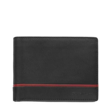 Мъжки портфейл SILVER FLAME - колекция Червена линия