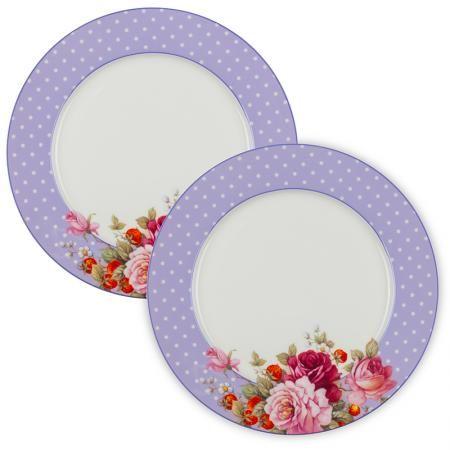 Перла к-кт 2 бр. лилави чинии - 26 см