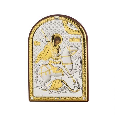 Икона Свети Георги златно