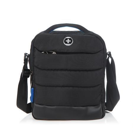 Черна спортна чанта  - SWISSDIGITAL