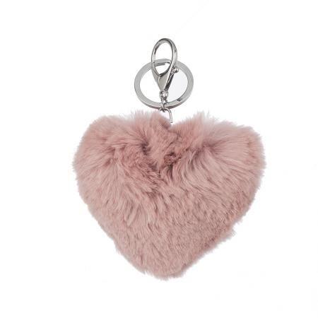 Ключодържател розово сърце - ROSSI