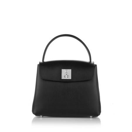 Дамска кокетна чанта в черен цвят PIERRE CARDIN