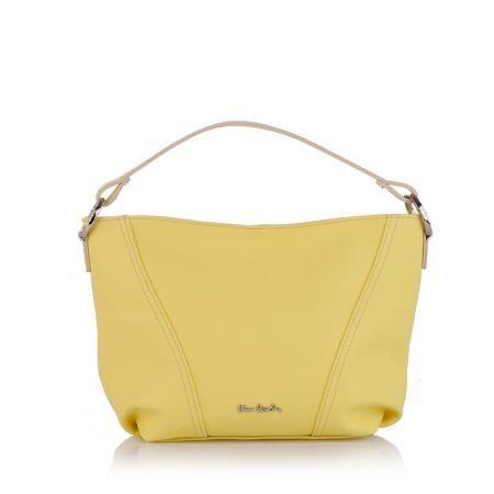 Дамска чанта Jour - лимонено жълто
