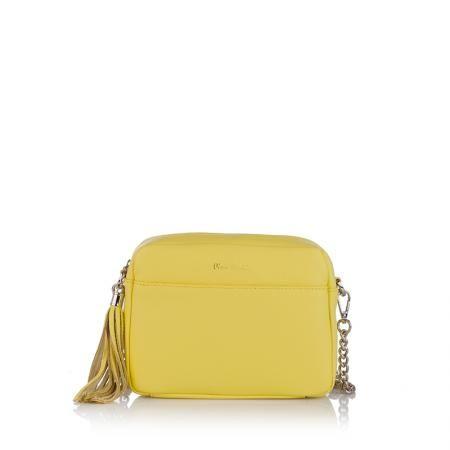 Дамска малка жълта чанта - Petit