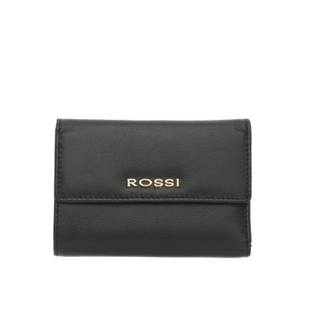 Дамскo портмоне в черно - ROSSI