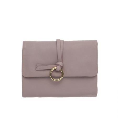 Дамско малко портмоне в лилаво - ROSSI