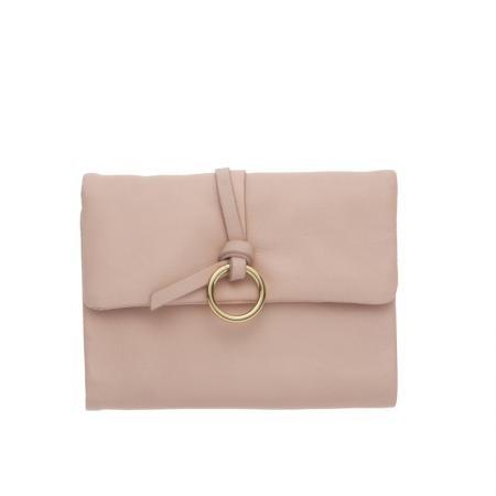 Дамско малко портмоне в светло розово - ROSSI