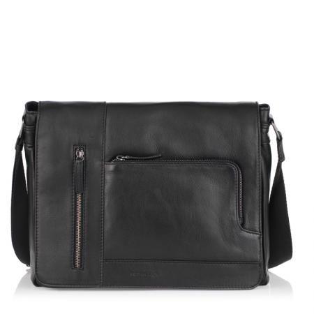Мъжка  стилна чанта  OILY DIANA - SILVER FLAME