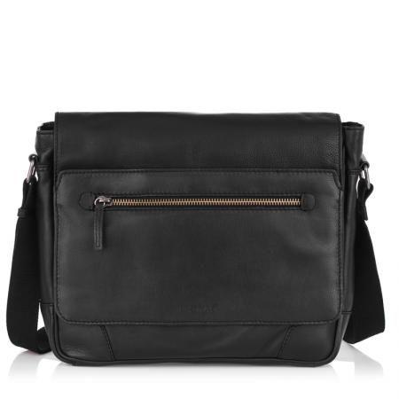 Мъжка чанта с цип OILY DIANA - SILVER FLAME