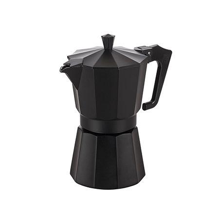 Италианска кафеварка черна