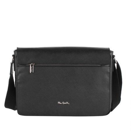 Мъжка чанта от естествена кожа - PIERRE CARDIN