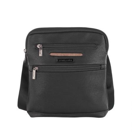 Спортна мъжка чанта от  еко кожа - PIERRE CARDIN