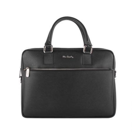 Чанта за лаптоп от естествена кожа - PIERRE CARDIN