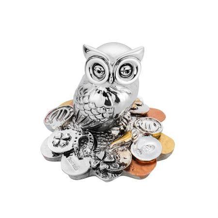 Бухалче с монети