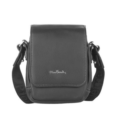 Малка спортна чанта от естествена кожа