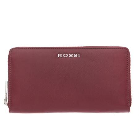 Дамско портмоне цвят Винено червено ROSSI