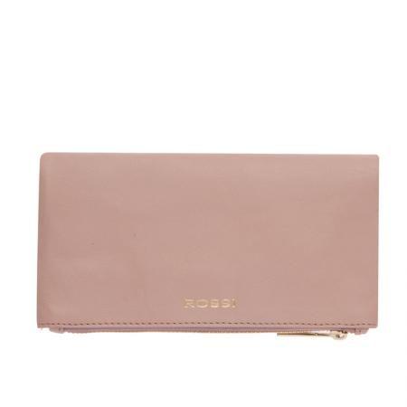 Дамско портмоне цвят Перлено розово - ROSSI