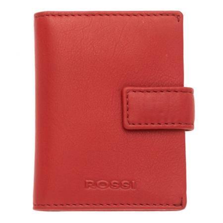 Дамски визитник цвят Наситено червен - ROSSI