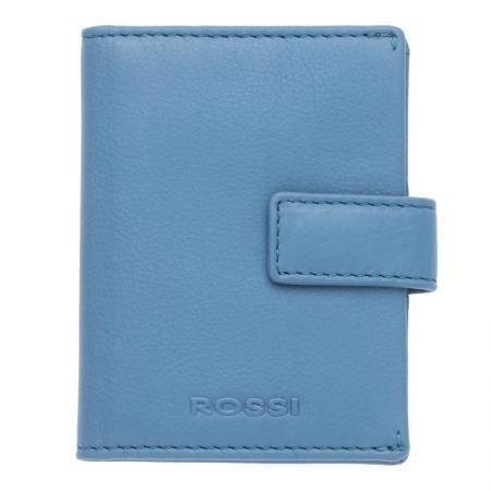 Дамски визитник цвят Небесно синьо - ROSSI