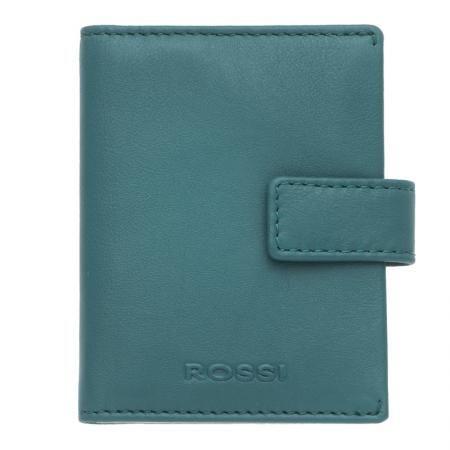 Дамски визитник цвят Езерово синьо - ROSSI