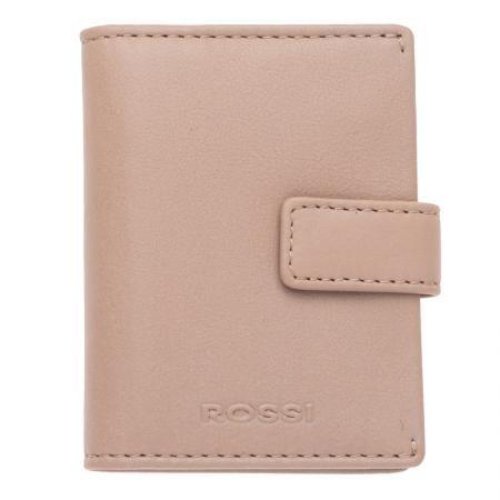 Дамски визитник цвят Перлено розово - ROSSI
