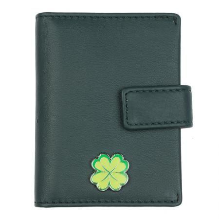 Картодържател на късмета цвят Елхово зелено - ROSSI