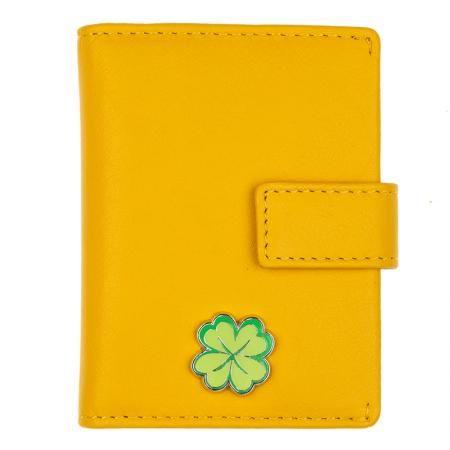 Картодържател на късмета цвят Жълто - ROSSI