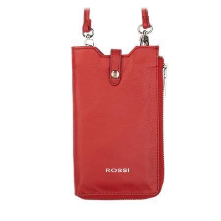Калъф за GSM цвят Тъмно червено - ROSSI