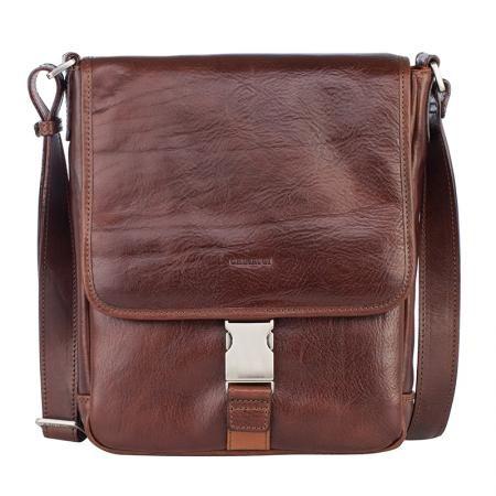 Мъжка кафява чанта - CHIARUGI