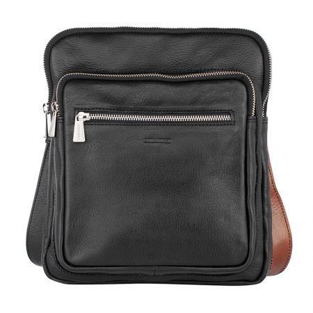 Mъжка черна чанта - CHIARUGI