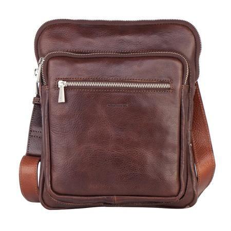 Мъжка чанта в кафяво - CHIARUGI