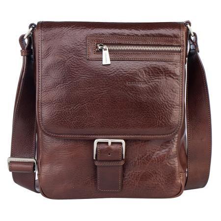 Стилна кафява чанта през рамо - CHIARUGI