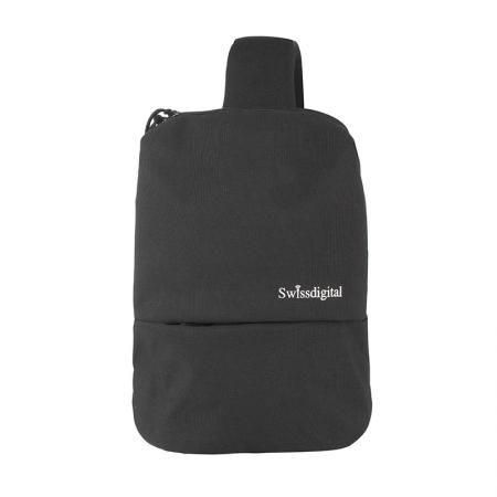 Черна смарт чанта - SWISSDIGITAL