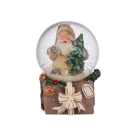 Преспапие Дядо Коледа с елха