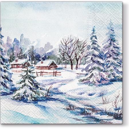 Салфетки - Зимна приказка