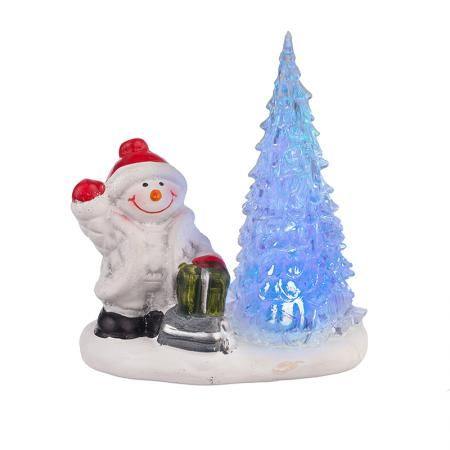 Статуетка Снежко светеща