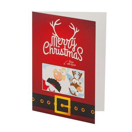 Анимирана картичка Дядо Коледа
