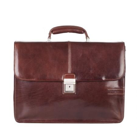 Класическа кафява чанта - CHIARUGI