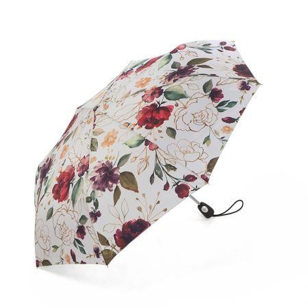 Дамски чадър с рози - PIERRE CARDIN
