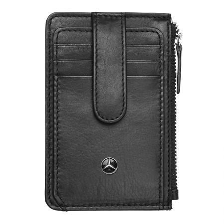 Мъжки мини портфейл SILVER FLAME с лого на Mercedes