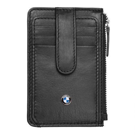 Мъжки мини портфейл SILVER FLAME с лого на  BMW