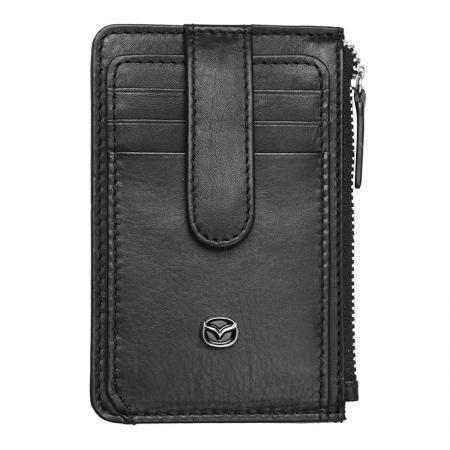Мъжки мини портфейл SILVER FLAME с лого на Mazda