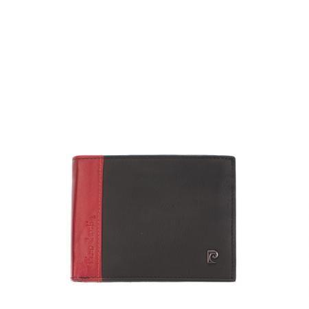 Мъжки портфейл черно с червено - PIERRE CARDIN
