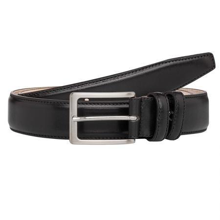 Мъжки колан черен - CHIARUGI -120 см