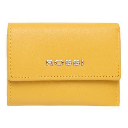 Дамски жълт портфейл ROSSI